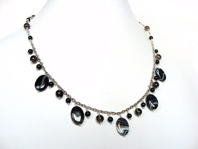 Adjustable Agate Necklace