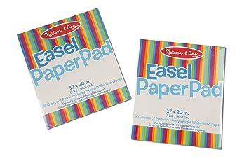 Amazon Com Melissa Doug Easel Paper Pad Top Bound Pad Premium