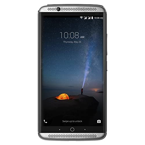 ZTE Axon 7 Smartphone Libre de 5 5 4G Qualcomm Snapdragon 820 4 GB RAM Almacenamiento Interno de 64 GB Bluetooth WiFi Android Color Plateado
