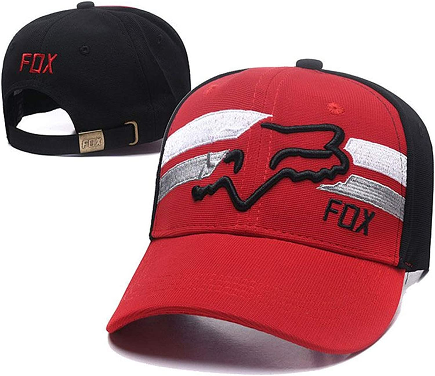 Quality Lovely Fox Baseball Caps Cattoon Pattern Embroidery Hats for Women Men Snapback Hip Hop Caps