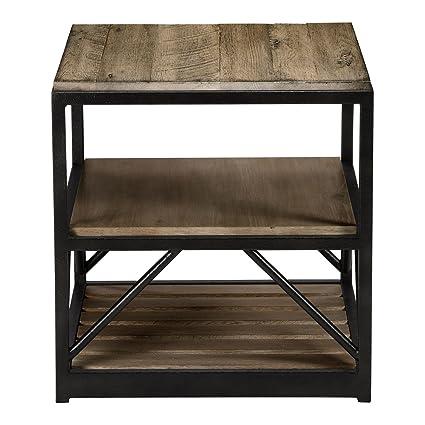 Magnificent Amazon Com Ethan Allen Beam End Table Silverado Kitchen Creativecarmelina Interior Chair Design Creativecarmelinacom