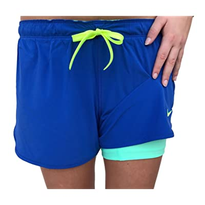 nike shorts double layer
