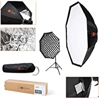 120cm Octabox Softbox & Grid with Bowens Mount | LuxLight® | Octobox Umbrella Softbox