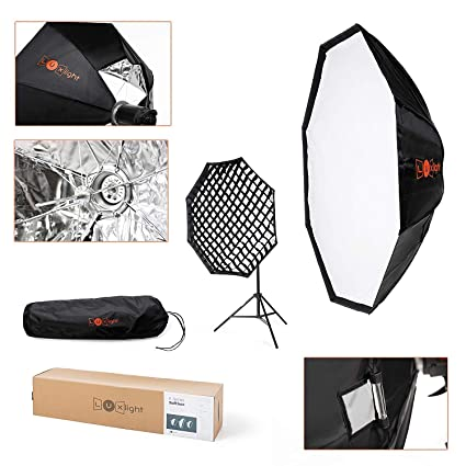 Pro studio fotografico ombrello Modificatore strip Light Hair fill Pieghevole flash Softbox Stripbox//| 30/ x 140/ cm Elinchrom flash da studio