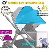 Parasol para Cochecito Bebe Universal, NUEVA VERSIÓN ...