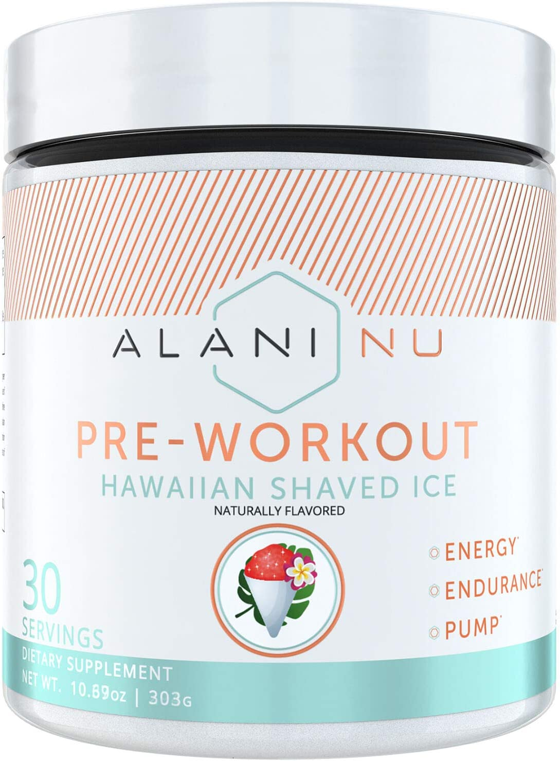 Alani Nu Pre-Workout – Hawaiian Shaved Ice