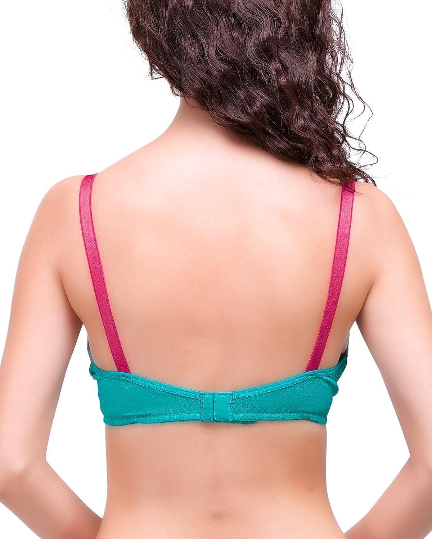 Inner Sense Healthy /& Organic Cotton Laced Soft Nursing Bra