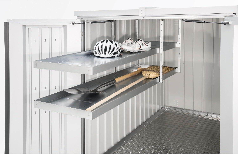 Biohort 45011Sistema de Estantería extensible Mini Garage 2estantes 150x 43x 5cm