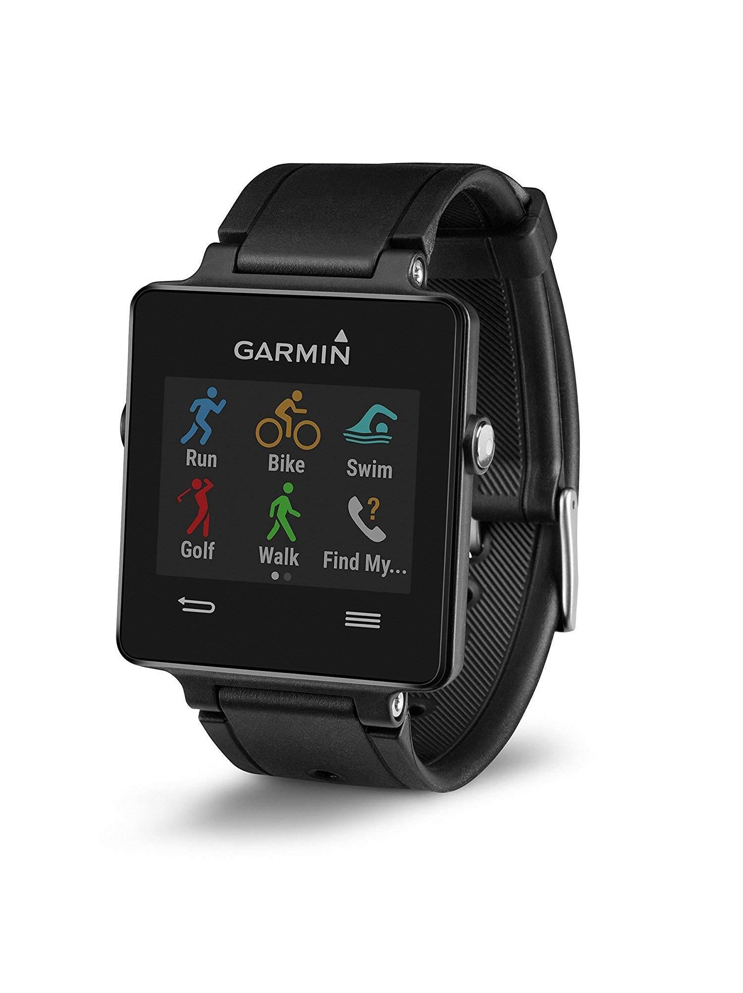 Garmin Vivoactive Black (Renewed) by Garmin