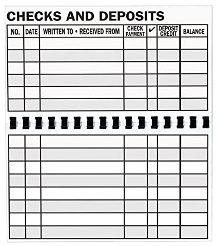 amazon com walterdrake large print check register giant print