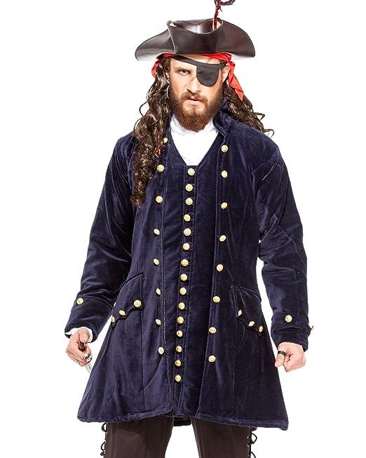 ThePirateDressing Pirata Medieval Renacimiento Capitán Worley Abrigo  Chaqueta Disfraz  C1421   Amazon.es  Ropa y accesorios 92055da8f8c2
