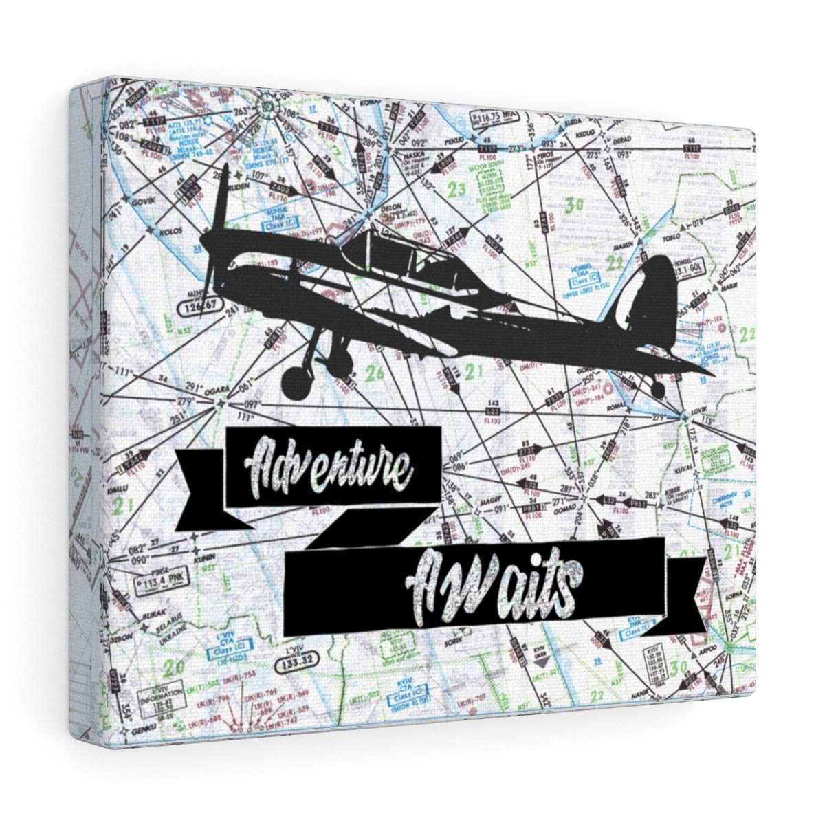 Succulent Wrap World Traveler Theme Airliners