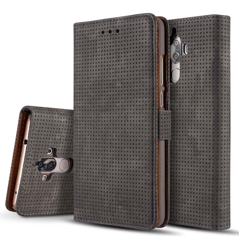 Red Penguin Real Leather Passport Holder Wallet Case Cover for Men Women