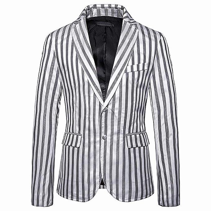 NING_CLOTHING NING - Chaqueta de poliéster para hombre, ideal para ...