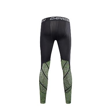 4cd89055900 Amazon.com  Vomi Gym Men Compression Base Layer Under Skin Sports Gear Pants  Leggings  Clothing