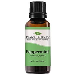 Peppermint Essential Oil. 30 ml (1 fl oz). 100% Pure, Undiluted, Therapeutic Grade