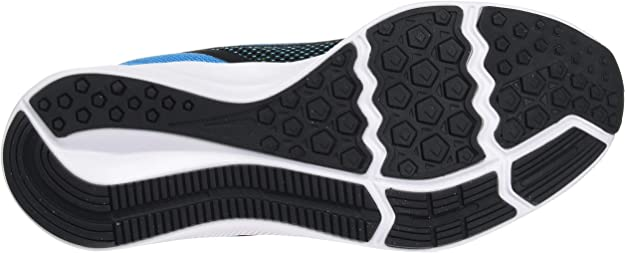 38 EU GS Walking Shoe Unisex-Child Negro Black White Laser Blue Lemon V 014 Nike Downshifter 9