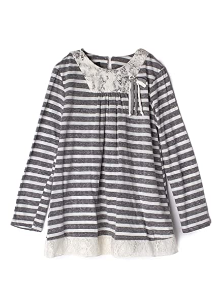 fe231b04f65 Isobella and Chloe Little Girl 4 5 6 6X Clothes Winter Fall top Shirt Tunic  Casual