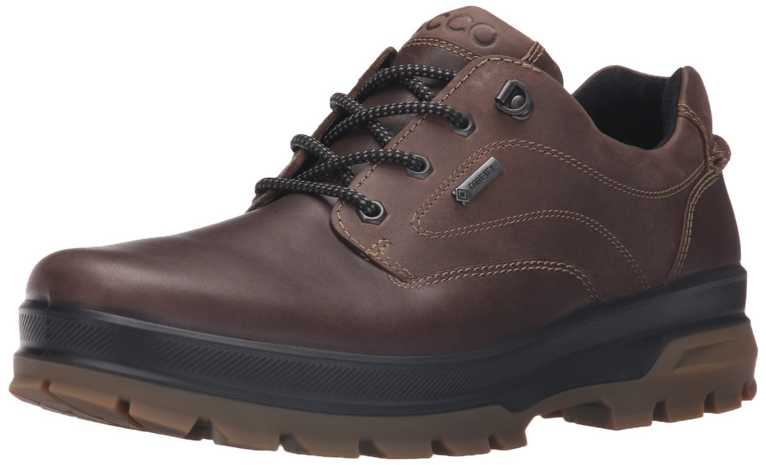 ECCO Men's Rugged Track GTX Tie-M Dark Clay/Coffee 43 EU/9-9.5 M US