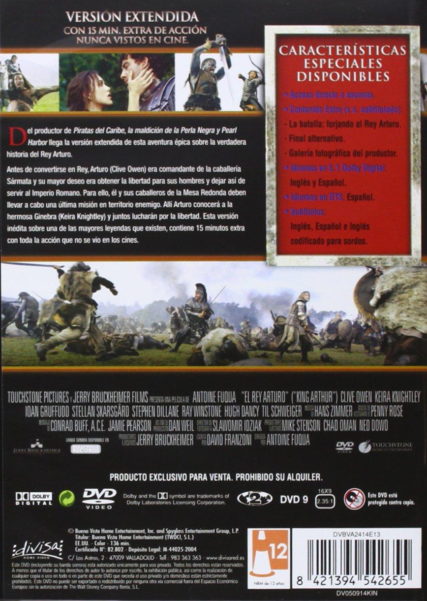 El rey Arturo (Versión extendida) [DVD]: Amazon.es: Clive ...