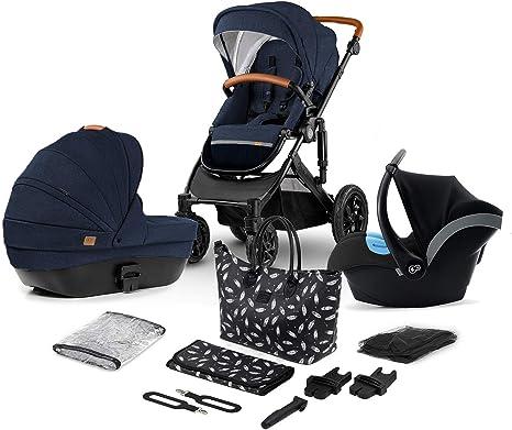 Cochecito Bebé 3 en 1 Juli Azul Kinderkraft