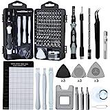 Precision Screwdriver Set, Lifegoo 122pcs Magnetic Repair Tool Kit for iPhone Series/Mac/iPad/Tablet/Laptop/Xbox Series/PS3/P