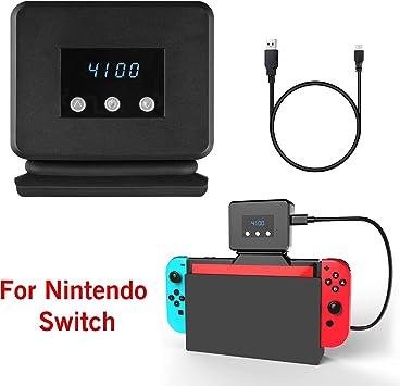 Linkstyle Base de radiador Ventilador de enfriamiento Compatible con Nintendo Switch, refrigerador Compatible con Nintendo Switch Docking Station: Amazon.es: Electrónica