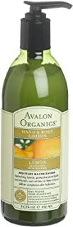 product image for Avalon Organics Hand & Body, Lemon, 12 Ounce (Pack of 6)