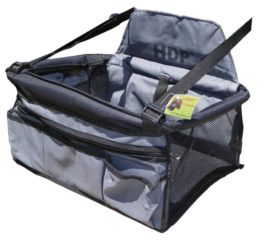 HDP Car Deluxe Lookout Booster Car Seat Color:Black by HDP