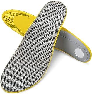 Kongqiabona Chaussures Semelles 1 Paire Semelles Orthopédiques Sportives Respirantes Antichoc Hommes Femmes Semelles