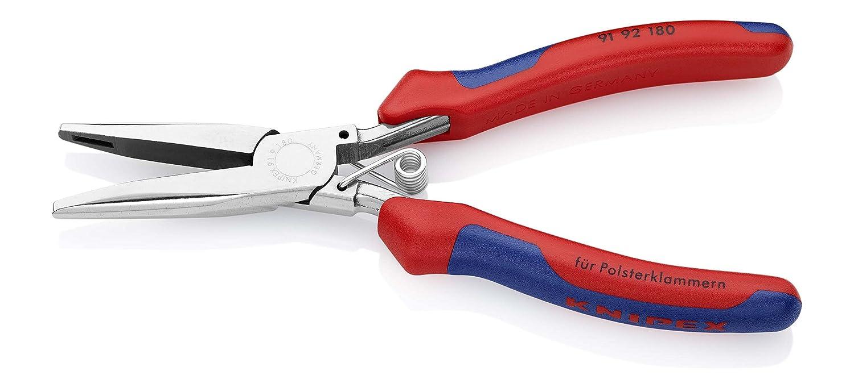 Knipex 91 92 180 alicate - Alicates (Acero, Azul/Rojo, 18,5 cm, 195 g): Amazon.es: Bricolaje y herramientas