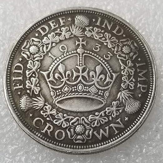 YunBest 1933 Monedas Antiguas del Reino Unido – Colección de ...