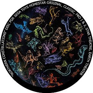 Northern Constellations - disc for Sega Toys Homestar Classic/Flux/Original Planetarium