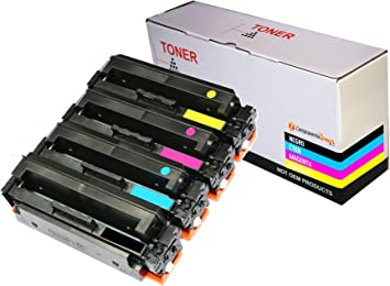 CVT - Pack 4 Toner Compatibles 054H para Canon i-SENSYS MF640C ...
