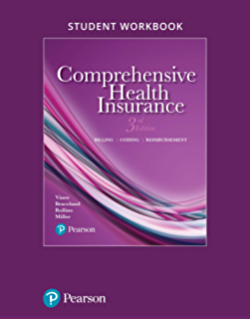 Amazon comprehensive health insurance billing coding and student workbook for comprehensive health insurance billing coding and reimbursement fandeluxe Choice Image