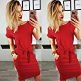 2018 Mikey Store Women's Casual Summer Dresses
