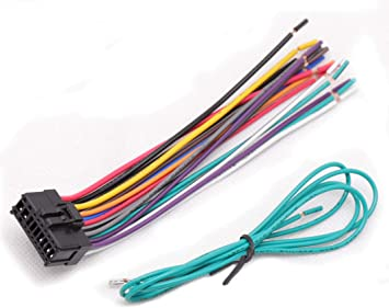 pioneer car stereo radio wiring amazon com red wolf pioneer 18 pin audio radio wiring harness  18 pin audio radio wiring harness