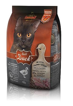 LEONARDO Pato adultos 400gr seco Alimento para Mascotas Artículos Gatos: Amazon.es: Productos para mascotas