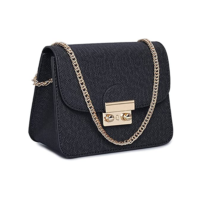 d53d3cd67bd3c Leather Small Cross Body Purse Crossbody Bag Black Red Evening Party  Wedding Clutches Shoulder Bag (