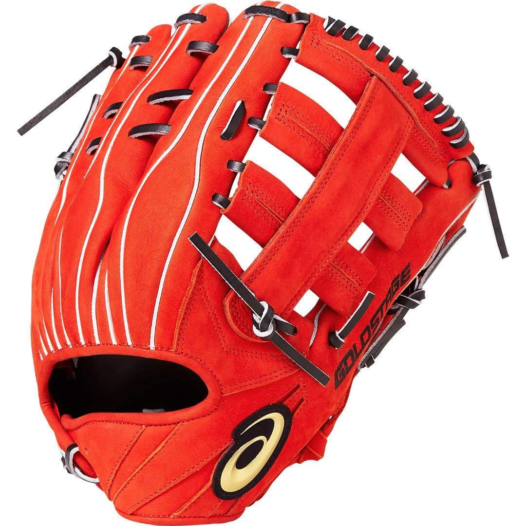 超歓迎 asics(アシックス) グローブ 硬式 野球用 硬式 野球用 グローブ 外野手用 3121A185 B07M76XPKM RH(左投げ用)|N.Rオレンジ/ブラック N.Rオレンジ/ブラック RH(左投げ用), オチアイチョウ:54365686 --- adornedu.com