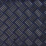 印傳屋(INDEN-YA) 印伝 名刺入れ 2501 網代編[紺×黒] 当店限定色