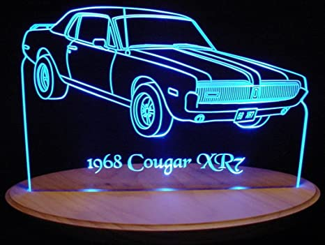 1967 Chevelle SS Edge Lit Awesome 21 Lighted Sign Led Plaque 67 Mirr Made in USA
