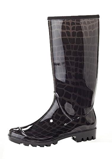Amazon.com | Women's Henry Ferrera Fashion Waterproof Rainboots ...