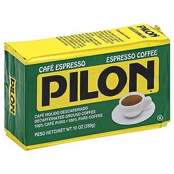 Spiksplinternieuw Amazon.com : Pilon Decaf Espresso Coffee, 10 oz : Ground Coffee VV-23