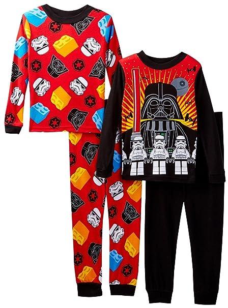 Amazon.com  Star Wars 21SL007BLLDZ 4pc Set Multi 4  Clothing 7e4799cb1