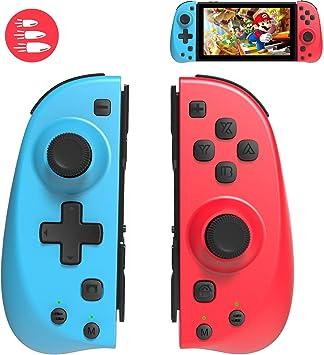 Elyco Mando para Nintendo Switch, Bluetooth Wireless Controller Gamepad Joystick Joycon Función Turbo Controlador Compatible con Nintendo Switch Inalámbrico Controller: Amazon.es: Electrónica
