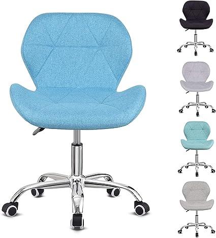 Hadwin Desk Chair Office Swivel Chair Height Adjustable Comfortable Padded Office Chair Amazon De Kuche Haushalt