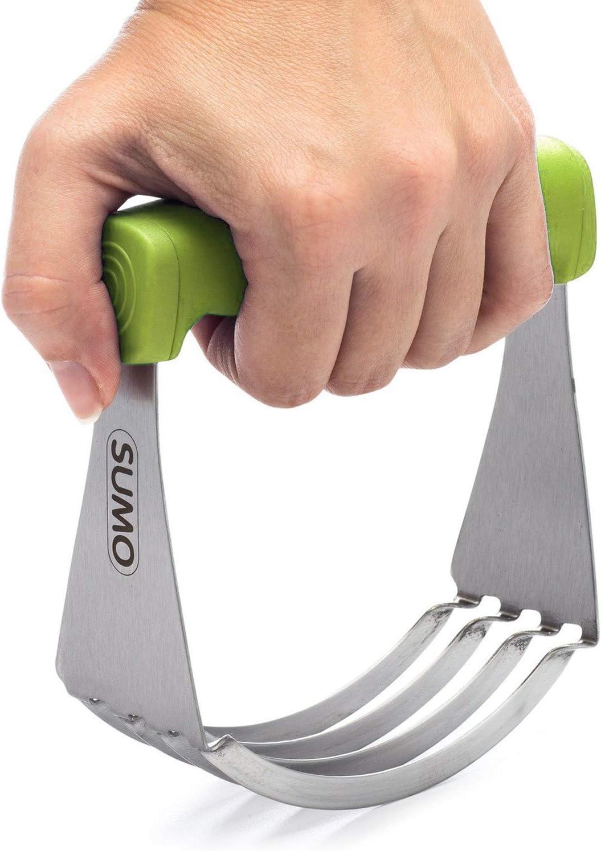 SUMO Pastry Cutter + Dough Blender (Green)