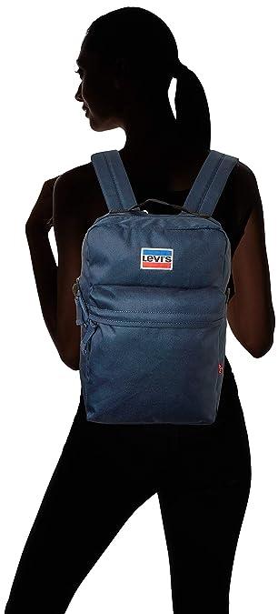 Levis Mini Levis® L Pack, Mochila Hombre, Azul (Navy Blue), 10.5 x 37 x 23.5 cm (W x H x L): Amazon.es: Zapatos y complementos