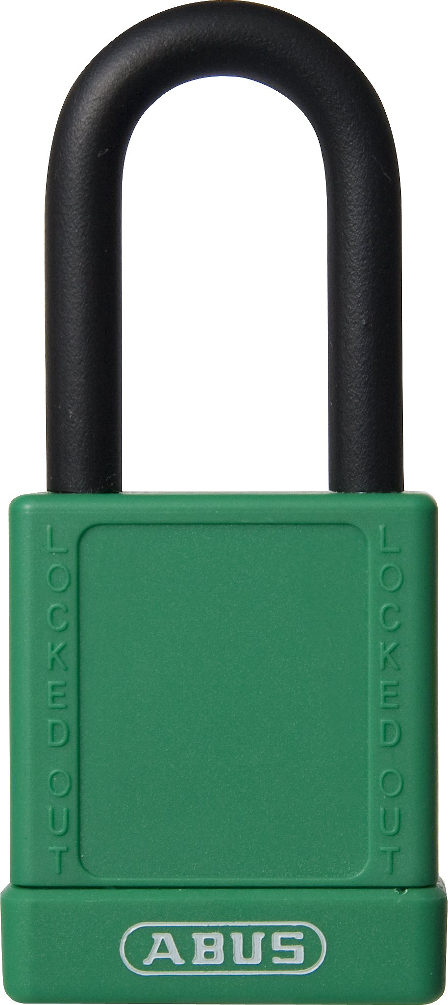 ABUS 74/40 KD Safety Lockout Non-Conductive Keyed Different Padlock with 1-1/2-Inch Shackle, Green